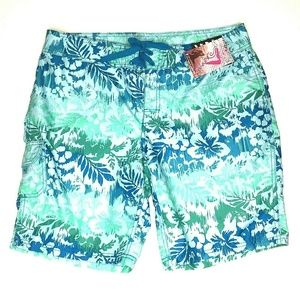 Kanu Surf Oceanside Quick Dry Board Shorts Size 12